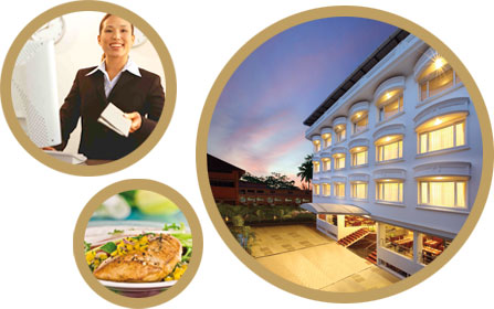 Our Mission Is To Be Recognized As A Leading Provider In Hospitality Services Banner